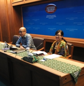 Director of International Security and Disarmament of Indonesian Ministry of Foreign Affairs, Grata Endah Werdaningtyas