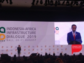 President Joko Widodo Conveys Indonesian Development Achievements in Infrastructure at Indonesia-Africa Infrastructure Dialog(IAID), Tuesday (20/08/2019)