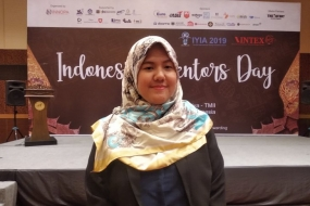President of the Indonesian Invention and Innovation Promotion Association (INNOPA) Erricha Insan Pratisi.