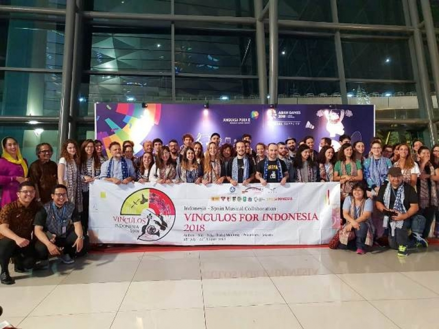 Vinculos For Indonesia 2018