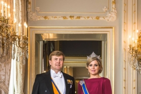 King Willem-Alexander and Queen Maxima will pay a state visit to Indonesia on March 10-13, 2020.