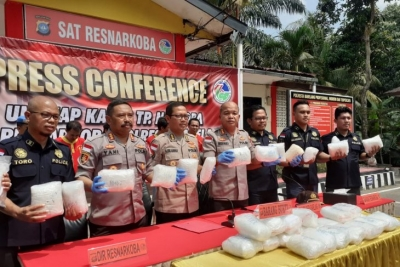 Indonesia, Malaysia intensify cooperation against drug smuggling