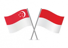 Indonesian-Singapore Flag