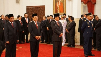 3rd Reshuffle Cabinet
