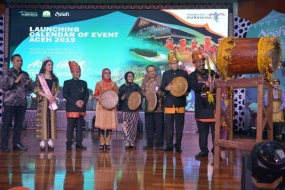 Minister of Tourism, Arief Yahya launches Aceh Calendar Events