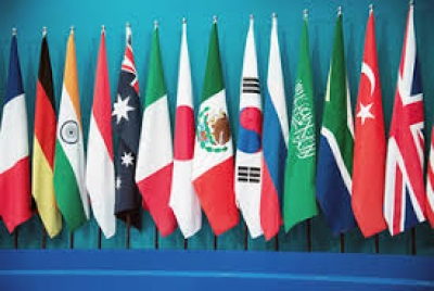 Flags of  G 20