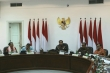 President  chaired a limited cabinet meeting
