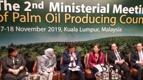 Los países productores de aceite de palma acuerdan aumentar la colaboración para aumentar los precios
