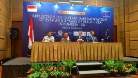 Indonesia - La Unión Europea fortalece el sistema de verificación de la legalidad de la madera