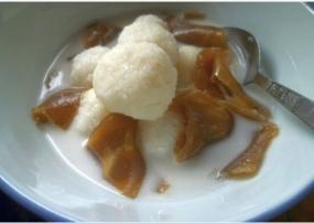 gempol pleret طهي تقليدي من مدينة سولو الجليد