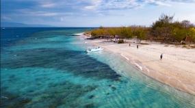 Gili Kondo op het eiland Lombok, West Nusa Tenggara