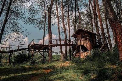 Wana Wisata Kampung Rahong : Een van interessante toeristische attracties uit Provincie West Java
