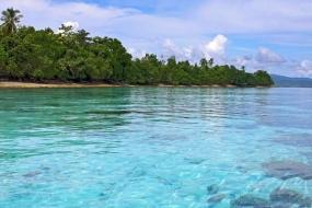 L'ile de Saparua aux Moluques.