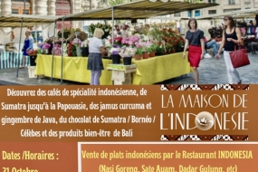 L'Indonésie fait la promotion de la phytothérapie, du café, du riz frit à Paris