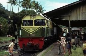 L'Histoire de la gare de  Pulau Air.