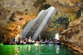 La grotte Pindul à Yogyakarta