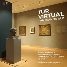 Visite virtuelle de l'Exposition de la Collection Permanente de la Galerie Nationale d'Indonésie