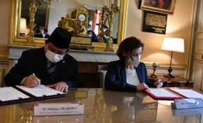 Prabowo a signé une coopération de défense entre l'Indonésie et la France
