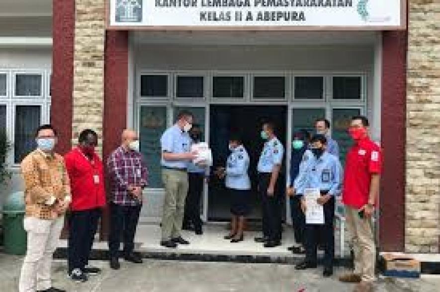 Das Internationale Rote Kreuz erweitert die COVID-19-Unterstützung auf Papua