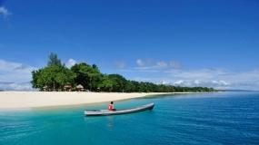 Tanjung Gorango in Morotai, auf den Molukken