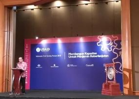 インドネシアと米国は、共に民主的ガバナンスを創造する