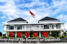 インドネシア - パプアニューギニアの国境に位置するKAMPUNG SKOUW (スカウ村)