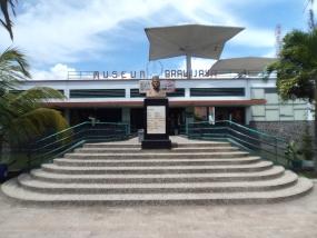 東ジャワ州のBRAWIJAYA博物館