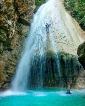 マルク州のHOKO滝