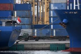 2019年5月の貿易収支は、2億1000万ドルの黒字
