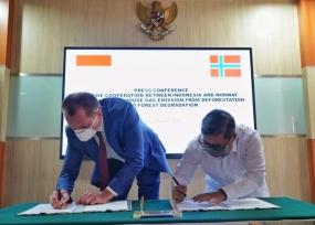 インドネシア-ノルウェーは、10年間関係を続けてきた森林破壊と森林劣化からの排出ガス削減における協力を強化