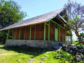 東南スラウェシ州ブトン島のWAWOANGI(ワウォアンギ)モスク