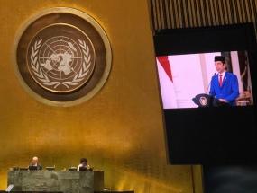 インドネシア共和国の大統領は、国連に自らを改善するように促す