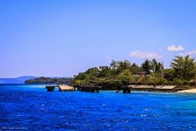 マルク州のSAPARUA(サパルア)島の観光地