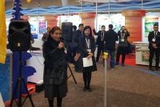 Susi大臣と国家漁業起業家は、アメリカでの展示会に出席
