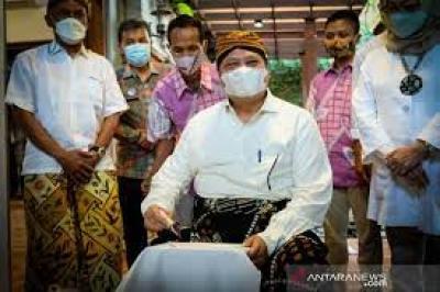 Airlangga:蜡染多元化促进国家经济复苏
