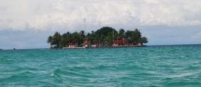 Samber Gelap岛。
