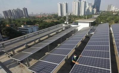 印度尼西亚在可再生能源创造的就业机会中排名第二