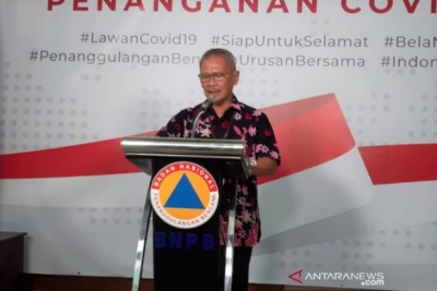 The government's spokesman for COVID-19 handling Achmad Yurianto