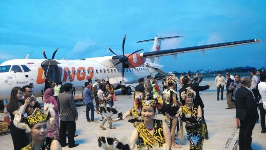 The Opening of Direct Flight between Pontianak and Miri Expected to Increase Tourist Visits in 2018