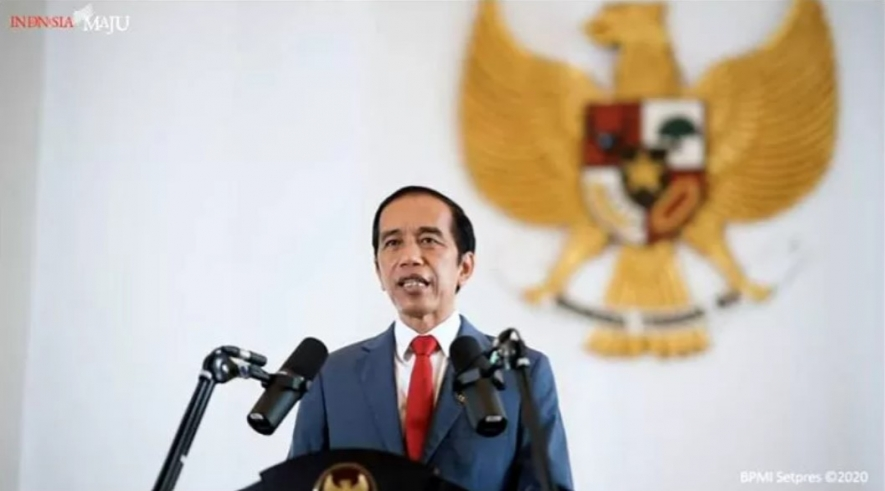 Jokowi Mentions Six Benefits of Job Creation Law To CEOs in OPEC