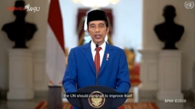 President: Continue Equitable Development For Indonesia-centric Mission