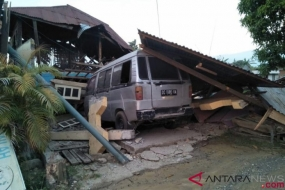 Damages caused by Earthquake in Palu