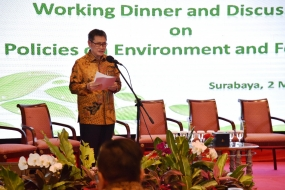 ASEAN Secretary General appreciates environmental management and forestry in Indonesia