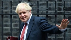 British PM Boris Johnson