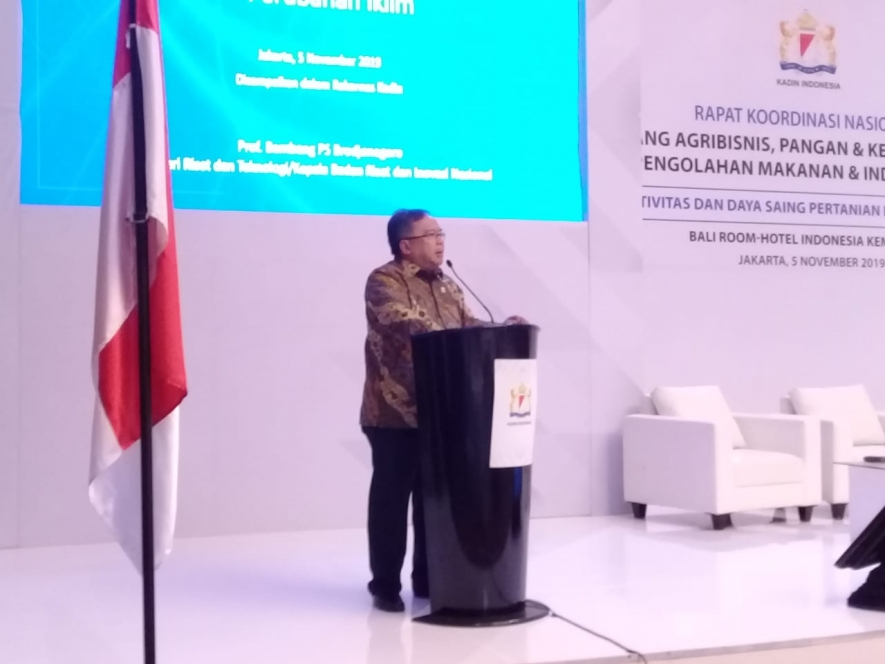 Minister of Research and Technology / Head of the National Research and Innovation Agency (BRIN), Bambang Brodjonegoro