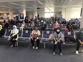 Embassy Repatriates 60 Indonesian Illegal Migrants in Damascus