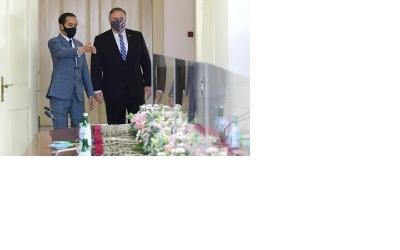 En la reunion con Pompeo, El presidente Joko Widodo quiere incrementar la cooperación económica