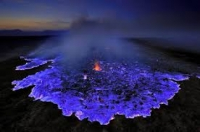 El cráter Ijen